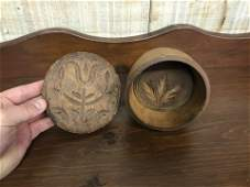 Two Antique Butter Prints