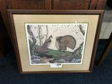 Gerald Putt Signed Numbered Print