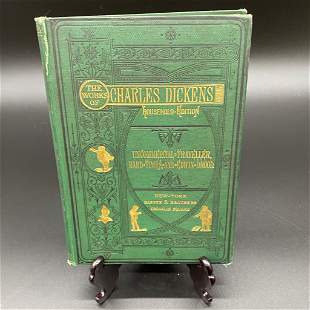 First Edition Charles Dickens Book - 1876