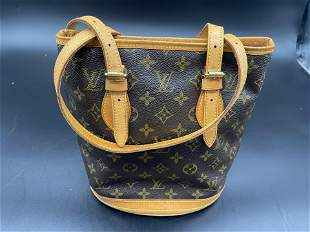 Louis Vuitton Monogram Bucket Handbag