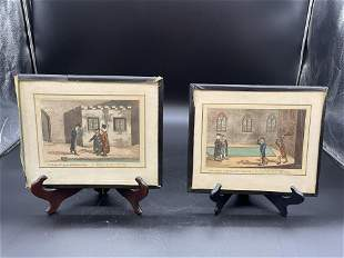 Two Early English Engravings