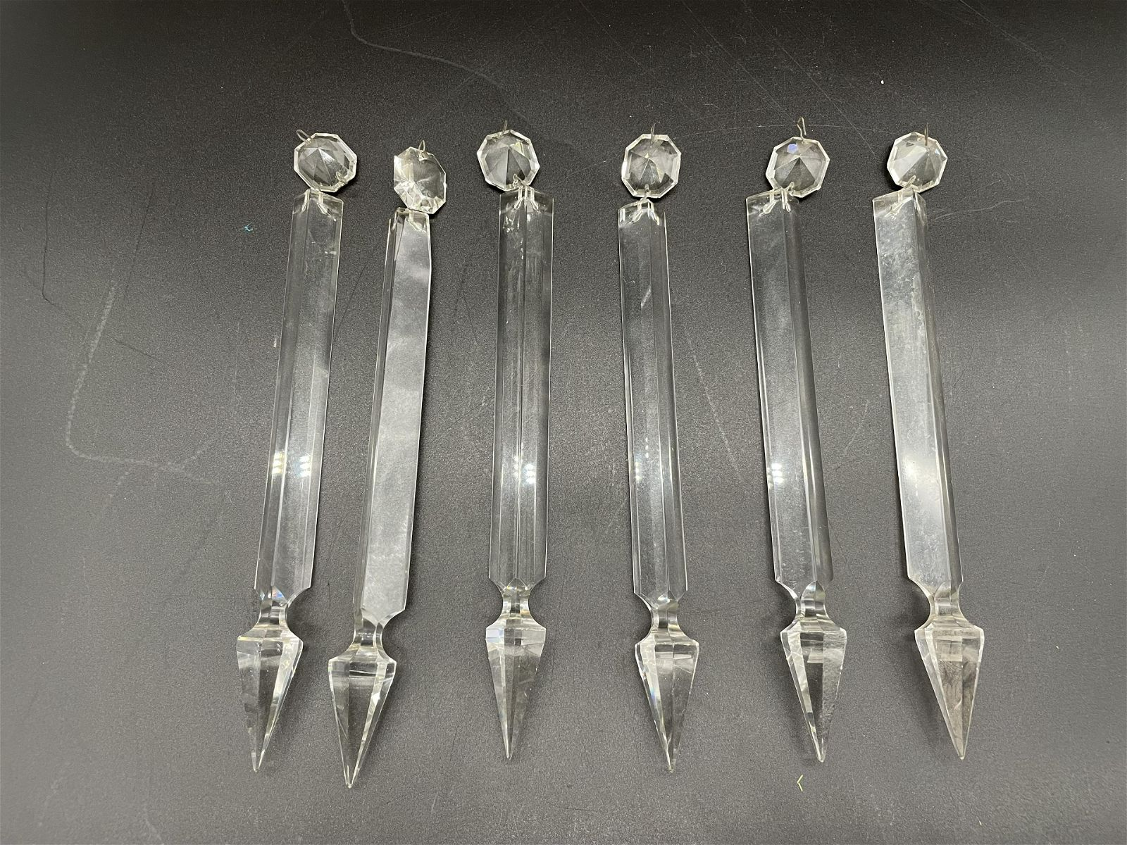 Grouping of Antique Prisms