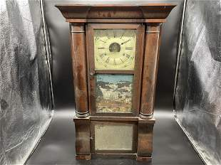 Eight Day Ogee Empire Clock