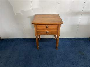 19th Century Two Drawer Stand