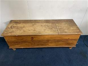 Early Grain Painted Wood Box-Jacob Tice