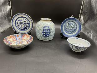 Grouping of Asian Porcelain