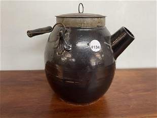 Antique Stoneware Batter Jug