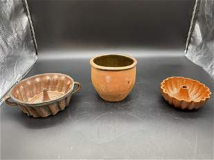 Grouping of Antique Redware