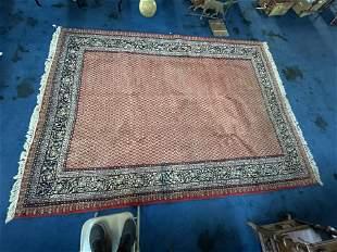 Handmade Indian Naiin Carpet