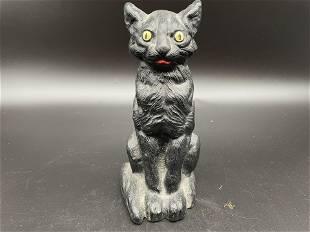 Cast Iron Cat Doorstop