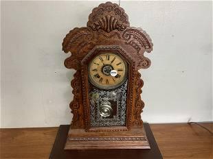 Ansonia Gingerbread Alarm Clock