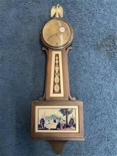 New Haven Art Nouveaux Banjo Clock