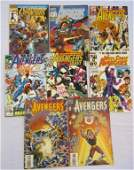 7 MARVEL AVENGERS COMICS 1994 1 1992