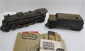 Lionel 2026 262 Steam Engine 6466WX Tender