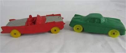 Vintage Auburn Rubber Co. Toy Cars
