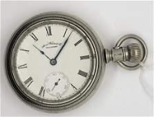 Antique American Watch Co Waltham Pocket Watch