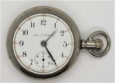 Antique Illinois Pocket Watch  Grade 59 15 Jewels