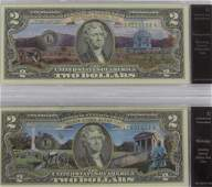 (2) NATL PARK ENHANCED 1976 $2 NOTES