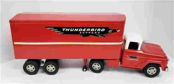1959 Tonka Pressed Steel Thunderbird Express