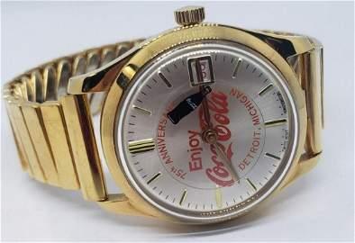 Vintage Mechanical Coca-Cola Wristwatch - Bottle T