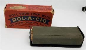 ROL-A-CIG Cigarette Maker - Vintage