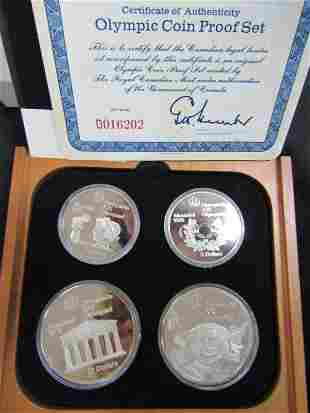 CANADA 1976 OLYMPIC COIN PROOF SET