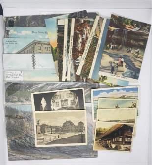 vtg SOUVENIR POST CARDS / VACATION