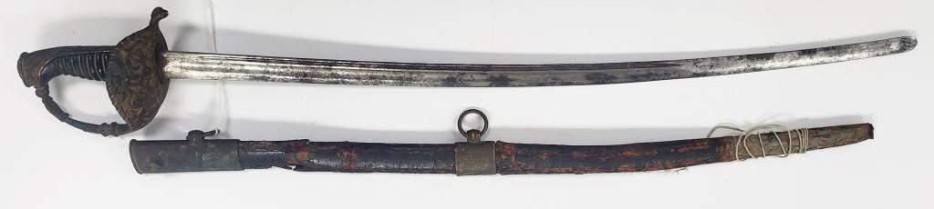 Rare Antique British Navy Cadet Short Sword!