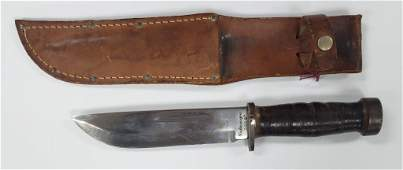 1940's WWII Cattaraugus 225Q Fighting/Hunting Knif