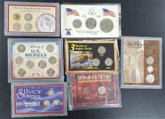 7 - U.S. TRIBUTE COIN SETS