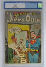 Superman's Pal Jimmy Olsen #1 CGC FR/G 1.5 - Key