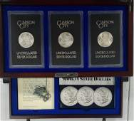 Officially Sealed Carson City Mint Morgan Silver D