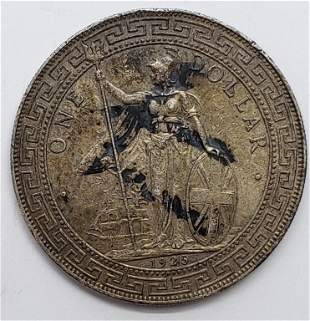 1925 Great Britain One Dollar