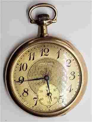 Antique Waltham Pocket Watch - Grade No. 1425