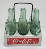 COCA-COLA 6 PACK ALUMINUM CARRIER