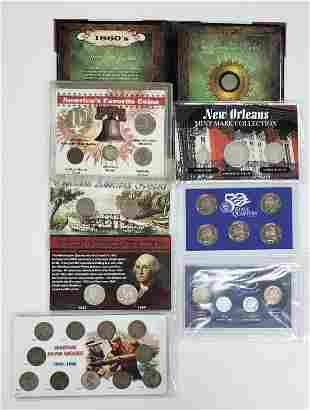NEW ORLEANS MINT MARK SILVER SET