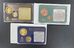 3 American Mint Limited Edition Sets