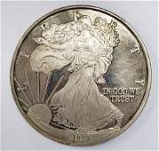 1993 One Troy Pound Walking Liberty .999 Fine Silv
