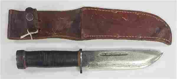 WWII Cattaraugus 225Q Knife W/Sheath