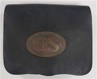 Civil War Union Ammo Pouch`