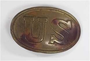 Civil War Union Belt Buckle - Original