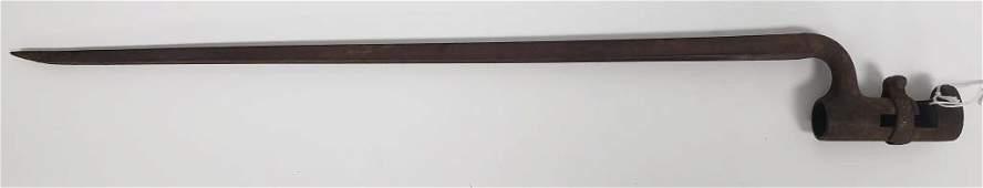 Civil War Socket Bayonet