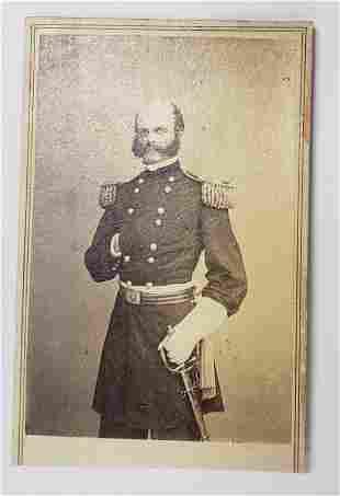 Civil War CDV General Burnside