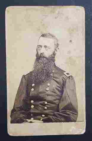 Civil War Brigadier General David Gregg CDV