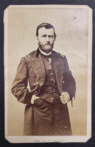 Civil War General Ulysses S Grant CDV