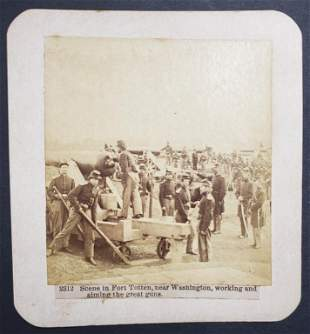 "Civil War Scene ""The War For The Union"" Fort Toten"