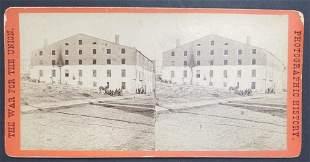 "Civil War Scenes Sterioview ""War Views"" Libbey Pri"