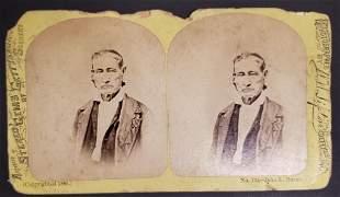Civil War Hero John L Burns Sterioview No. 734