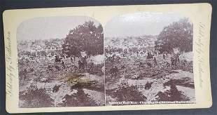"Civil War Sterioview ""The Battle of Bull Run"""