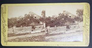 Sterioview 510 House In Which Jennie Wade Was Kill